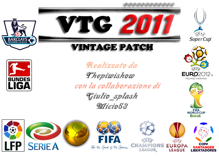 Vintage Patch PES 2011 by Thepiwishow