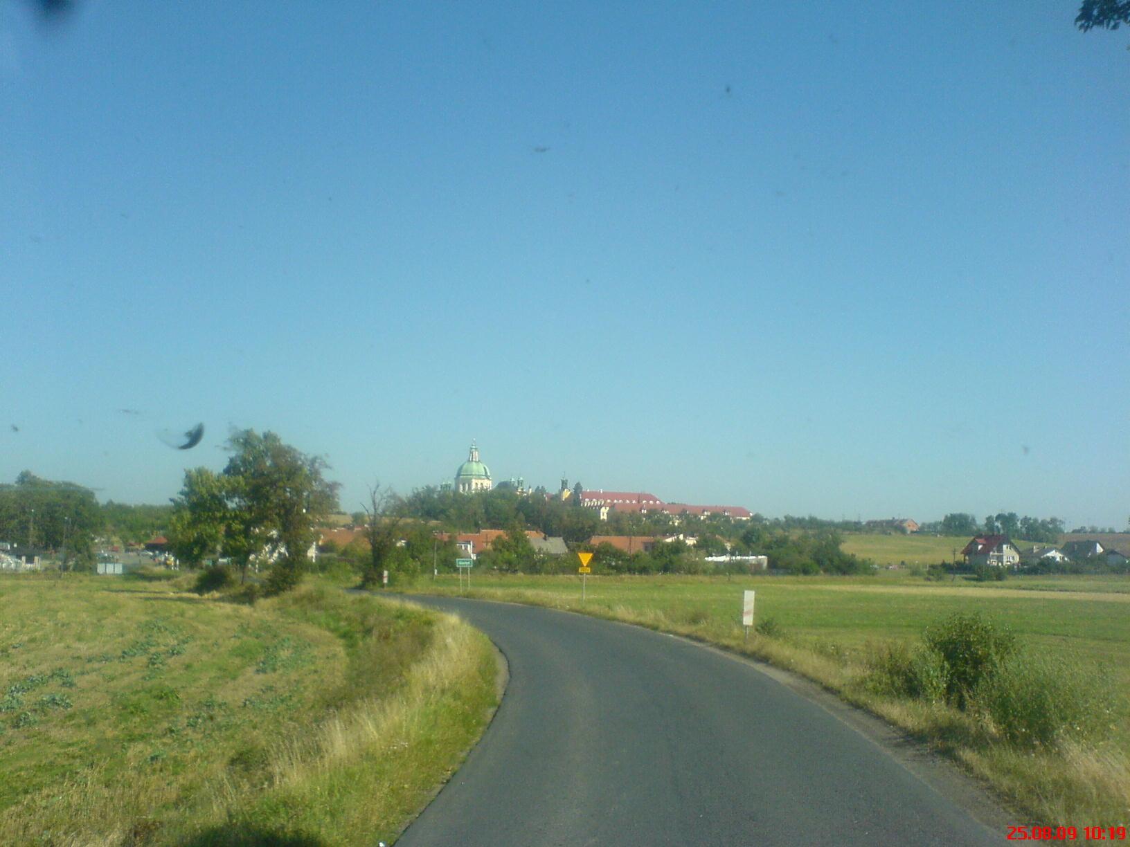 Landstrasse in Polen