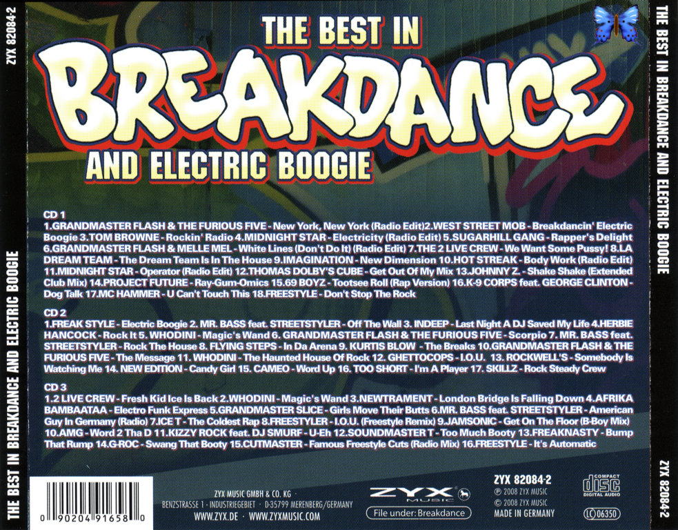 The Best In Breakdance & Electric Boogie