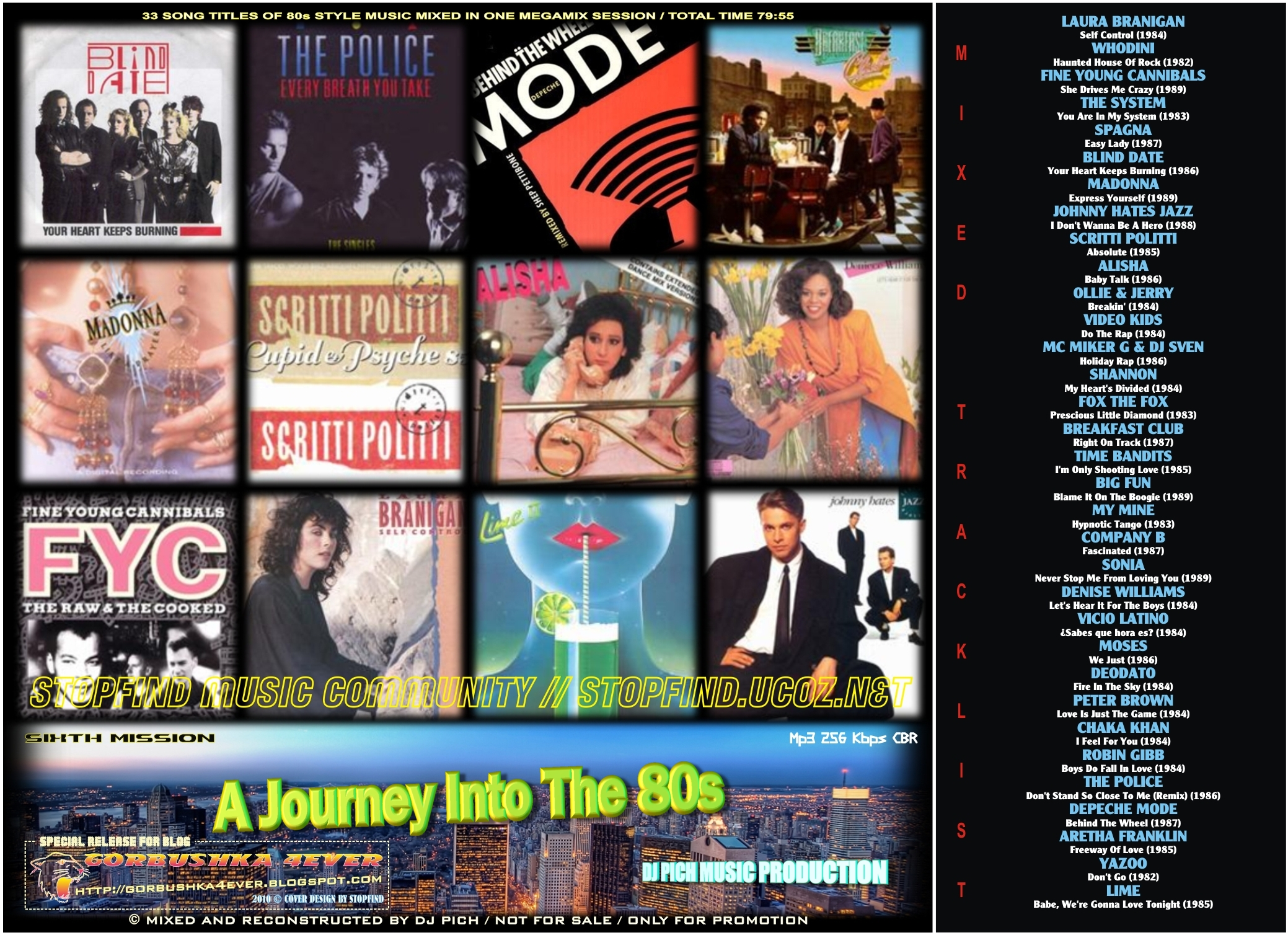 A Journey Into The 80's Mix 06