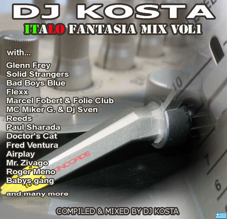 Dj Kosta - Italo Fantasia Mix Vol. 01