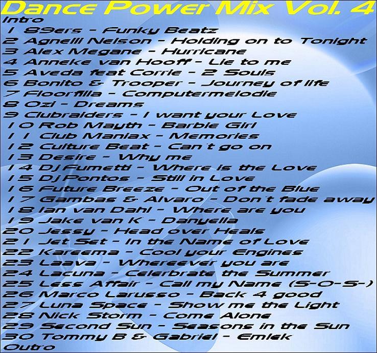 DJ Bossi - Dance Power Mix 4
